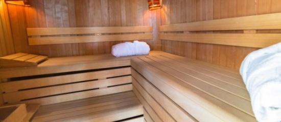 sauna finlandais manche Parenthèse de relaxation à deux