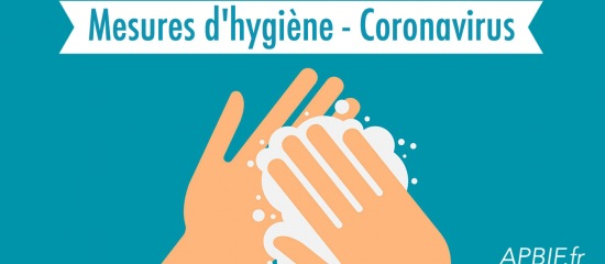Hygiène INFOS COVID-19 - MESURES D'HYGIENE - NOS LOCAUX