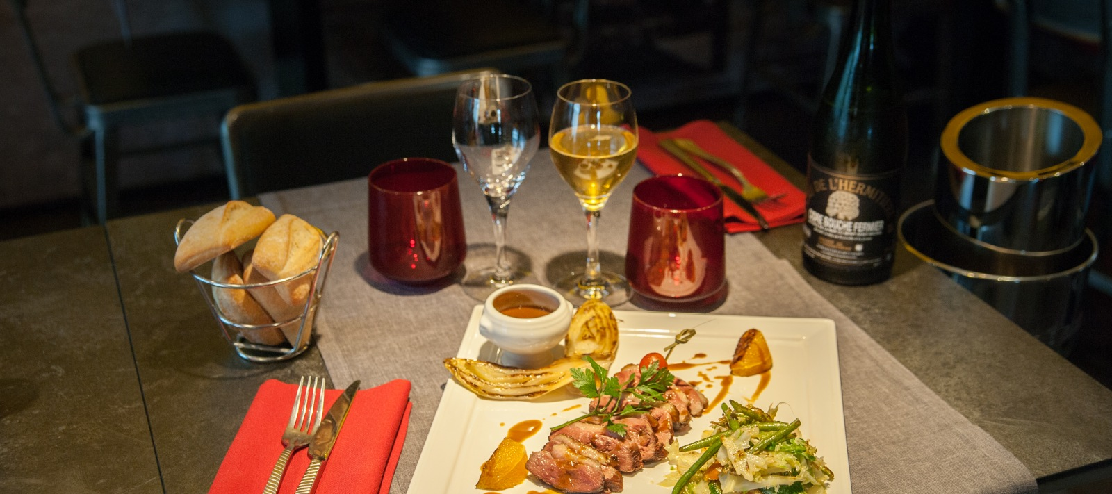 The Restaurant l'Atelier