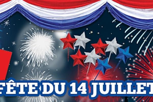 14 Juillet FETE NATIONALE DU 14 JUILLET