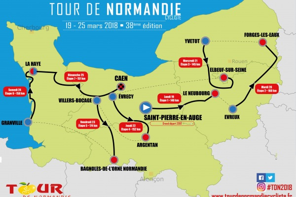 Tour de Normandie TOUR DE NORMANDIE 2018