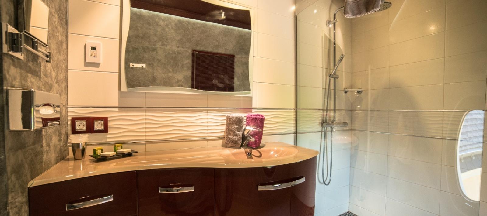 salle de bains hotel